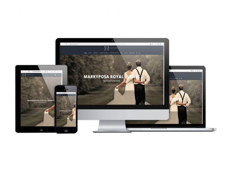 Κατασκευή Website Οργάνωσης Γάμων