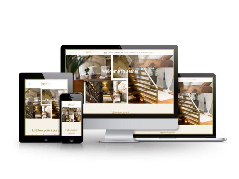 Κατασκευή Website Spa